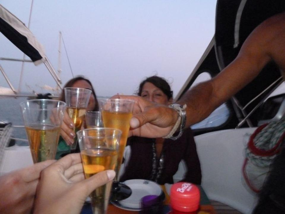 Capodanno in barca vela