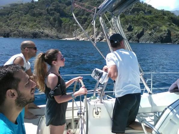 Gita in barca a vela da Civitavecchia