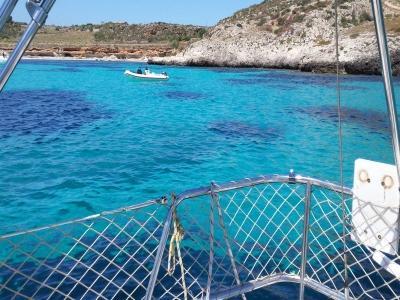Giornata in barca a vela Isole Egadi