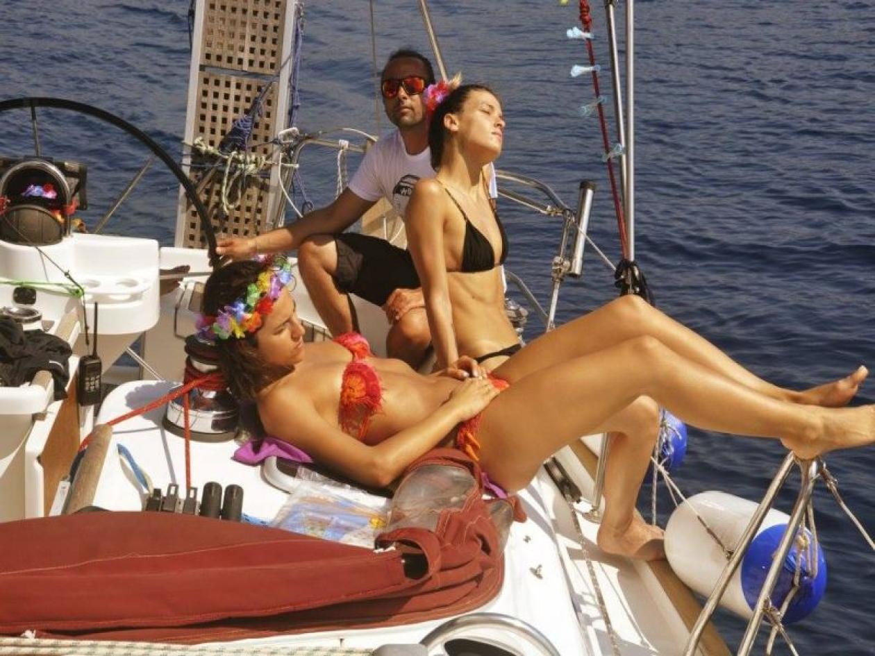 Addio al nubilato in barca vela Versilia