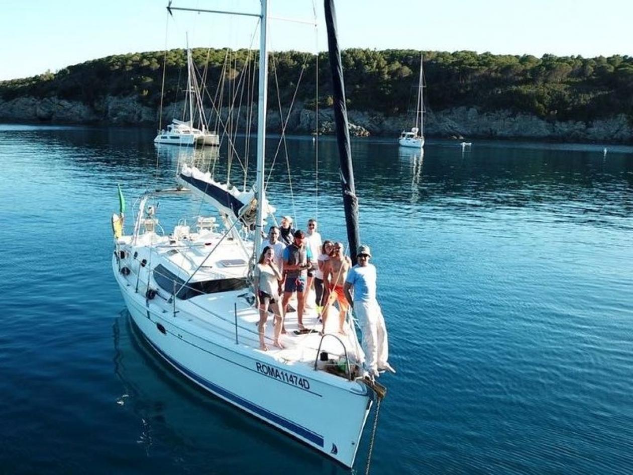 Giornata in barca a vela da Ponza